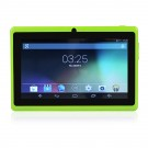 "QT-07 7"" Android4.4 Tablet Quad-Core A33 16GB Dual Cameras WiFi"